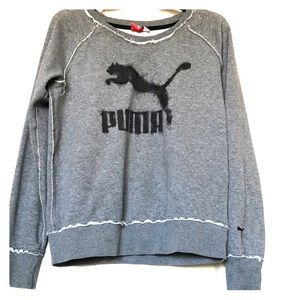 PUMA Women's Crew Neck Sweatshirt - M